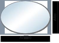 tapas para mesas ovalado