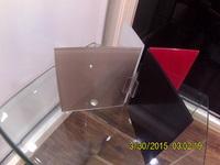 Uniones de metacrilato para espejos, válido para espesores de 5 mm