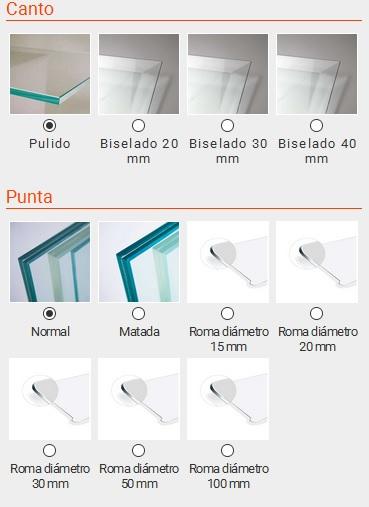 Manufacturas del vidrio disponibles en cristalamedida.