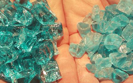 Cristal y vidrio.