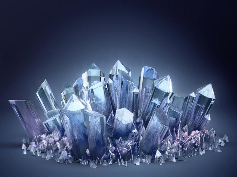 Cortinas de cristal.