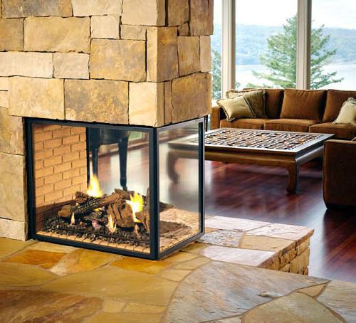 Comprar cristal resistente al fuego para chimeneas - Puertas de vidrio para chimeneas ...