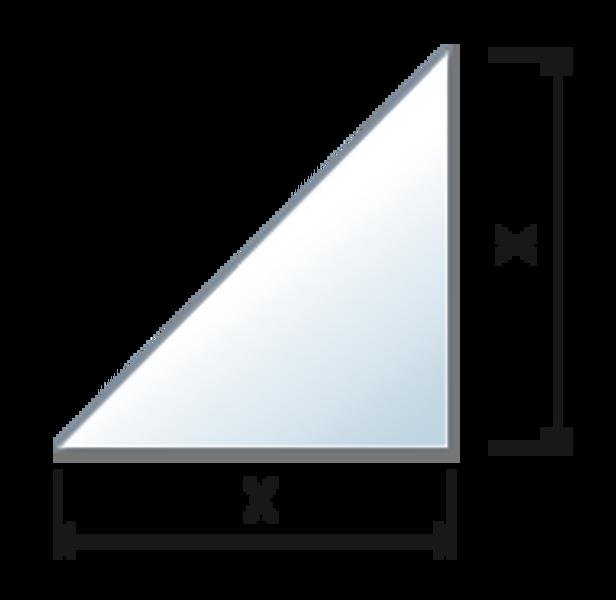Balda recta de vidrio templado cristal a medida - Baldas esquineras ...