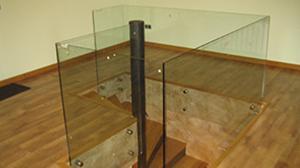 Barandilla Fijapuntos vidrio