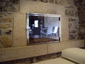 puerta de chimenea