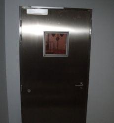 puerta cortafuego con cristal vitroceramico