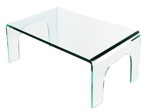Mesa baja cuadrada