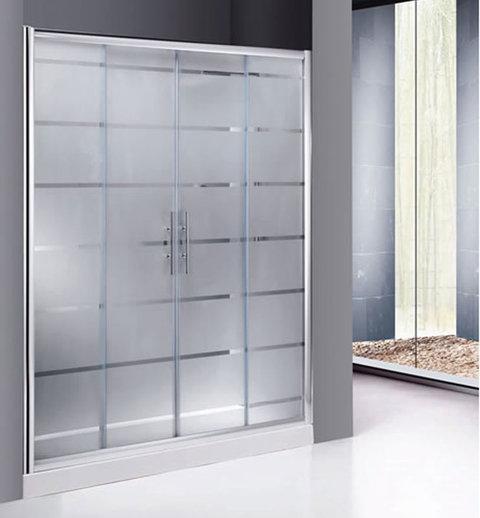 Cristal a medida productos mamparas mampara para ducha - Mamparas para duchas de obra ...