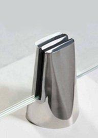 Pinza de acero de sujección a suelo para barandillas