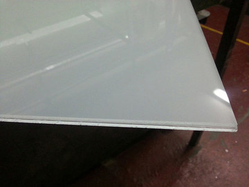 Cristal a medida - Vidrio laminado 10+10 translúcido (mateado)