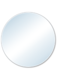 Vidrio Plástico Circular